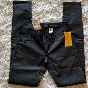 H&M & Denim Super Low Waist Skinny Jeans